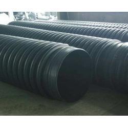 扬州中空壁缠绕管-安徽华宇-hdpe增强中空壁缠绕管图片