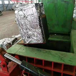 解体汽车壳金属压块机-金属压块机-超越机械生产厂家(查看)图片