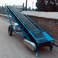 大傾角皮帶輸送機-皮帶輸送機-超越機械優質售后圖片