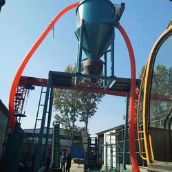 粉煤灰粉料装罐机-粉料装罐机-大地机械优质售后图片