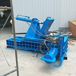 废铝金属压块机-黑龙江金属压块机-大地机械生产厂家图片