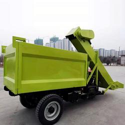 养殖场三轮铲粪车-圣时机械(在线咨询)铲粪车图片