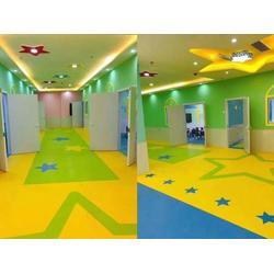 幼儿园塑胶地板-塑胶地板生产厂家图片
