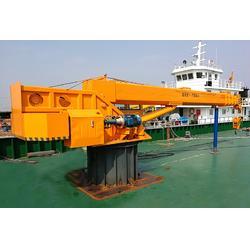船吊厂家报价8吨12吨船上专用起重机图片