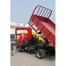 东风8吨随车吊带自卸厂家直销可以延伸货箱图片