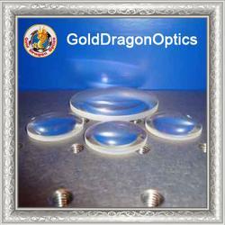 氟化钙平凸球面透镜图片