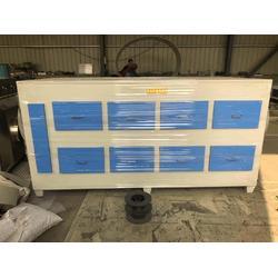 蜂窝活性碳吸附箱工作原理及特性图片