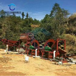 环保水洗砂生产线配置 定制三槽四槽轮斗洗砂设备厂家图片