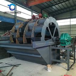 日产300吨轮式洗砂生产线配置 风化料洗砂机厂家现货图片