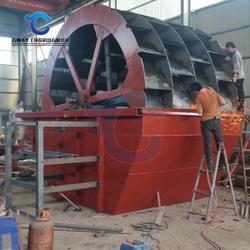 大型四槽叶轮洗砂设备 高效率移动车载风化砂洗砂机厂家定制图片