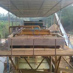 小型洗沙泥漿壓濾機設備 定制帶式污泥濃縮壓泥機圖片