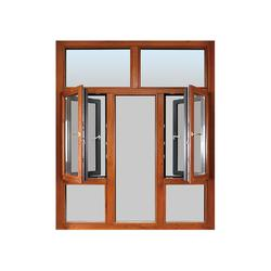 隔热断桥铝门窗封闭阳台窗户,密封隔音中空玻璃阳光房图片