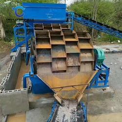 华工环保科技 小型轮式洗砂设备-陇南轮式洗砂设备