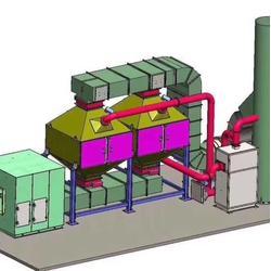 专业定制各种型号催化燃烧设备报价单图片