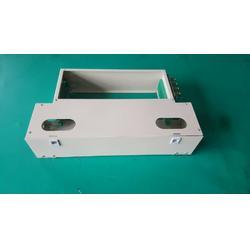 24芯ODF一体化单元箱满配SC圆头尾纤法兰盘图片