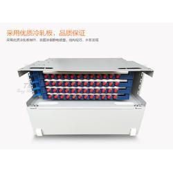 48芯ODF一体化单元箱满配FC圆头尾纤法兰盘图片