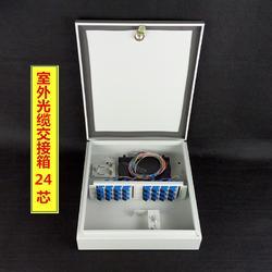 特厚钣金24芯36芯48芯72芯FTTH光纤分线箱光缆分纤箱图片