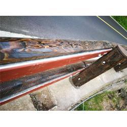 山东飞龙钢背木护栏(多图)阳泉钢背木景区护栏价格