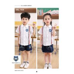 幼稚园服装厂家推出春夏幼稚园童装园服