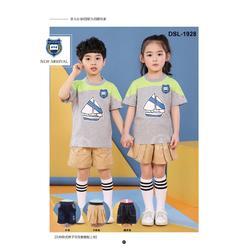 全棉柔软亲肤幼儿园园服厂家读书龙大量童装园服