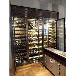 臻瀚金属 定制不锈钢酒柜-不锈钢酒柜图片