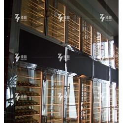 不锈钢酒柜-臻瀚金属-不锈钢酒柜架