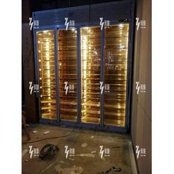 臻瀚金属 不锈钢酒柜生产-黄山不锈钢酒柜图片