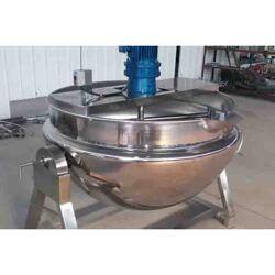搅拌熬制锅 熬汤炖肉自动搅拌卤煮锅 多种加热方式选择图片