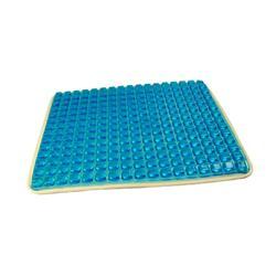 赛恩蓝色大方格凝胶坐垫片 夏季凉爽冰垫厂家