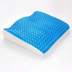 赛恩冰爽凝胶记忆棉坐垫 慢回弹记忆海绵透气座垫图片