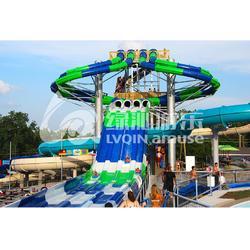 寻求优质的章鱼滑梯-好玩的竞赛水滑梯就在绿智游乐科技图片