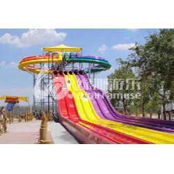 厂家推荐章鱼滑梯-广东专业的竞赛水滑梯图片