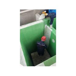 江苏玻璃钢防腐-值得信赖污水池防腐合作上哪找图片