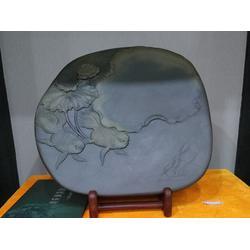 老坑端砚工艺摆件-哪儿能买到设计新颖的白线岩端砚图片