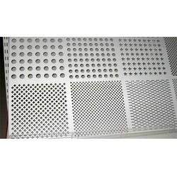 铝板冲孔加工-供应郑州汉卿钢铁优惠的铝板冲孔图片