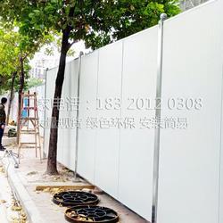市政工地围档施工临时围蔽交通防护围闭板图片