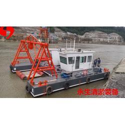 护城河清淤船 清淤船厂家图片
