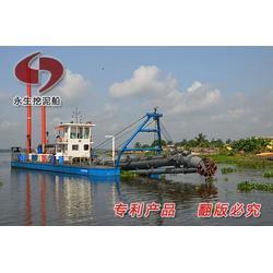 絞吸式碼頭維護船 絞吸式環保底泥清理船圖片