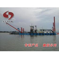 環保高效挖泥船 內燃機型挖泥船 燃氣型挖泥船廠家圖片