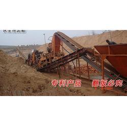 挖斗式挖沙選礦船 小型鏈斗船廠家圖片