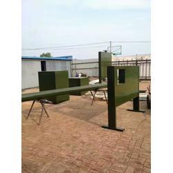 部队400米障碍训练器材安装方法价格