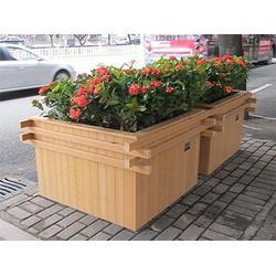 环保花箱,环保生态木花箱,环保花箱供应商图片