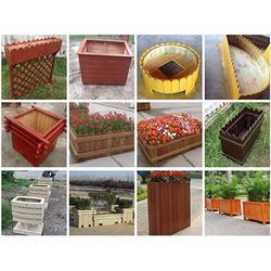 市政花箱,道路花箱,木塑花箱厂家图片