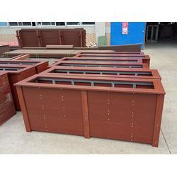 木塑果皮箱,户外塑木果皮箱厂家,分类果皮箱定制图片