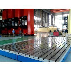铸铁T型槽平台 开槽平台 T型槽平台厂图片