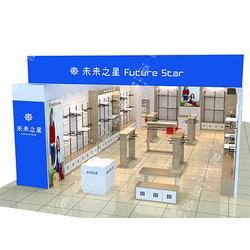 临汾展示柜生产厂家报价-上海凌慧展示策划母婴展示柜策划优惠图片