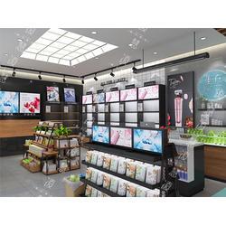 郴州烤漆展示柜-化妆品展示柜的范围是多少图片