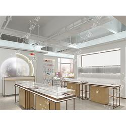 萍乡化妆品展示柜厂家定制-上海市烤漆展示柜策划专卖图片