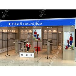 晉城烤漆展示柜咨詢-專業定制各類母嬰展示柜策劃圖片