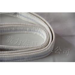 白色吊装带-大吨位管道防火耐磨-冀力图片